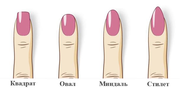 Как сделать миндальную форму ногтей