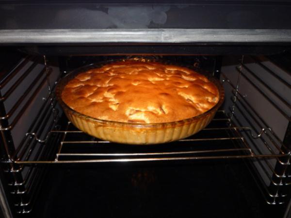 Пирог с яблоками в духовке рецепт с фото пошаговый