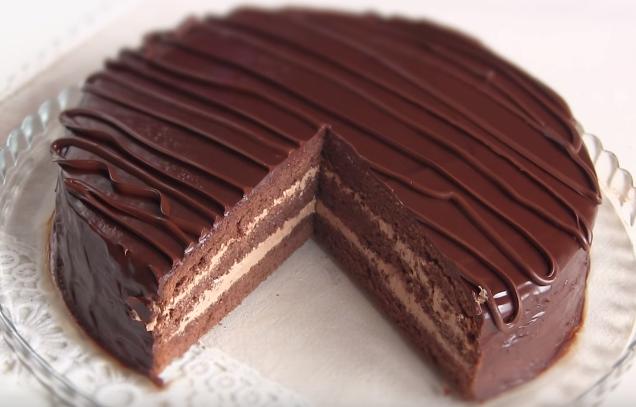 Торт прага классический в домашних условиях