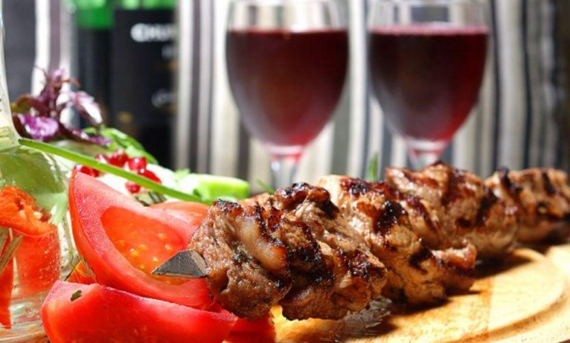 Рецепт шашлыка из свинины на красном вин