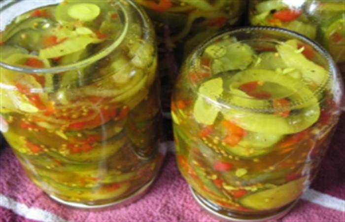 Заготовки из зеленых помидор салат