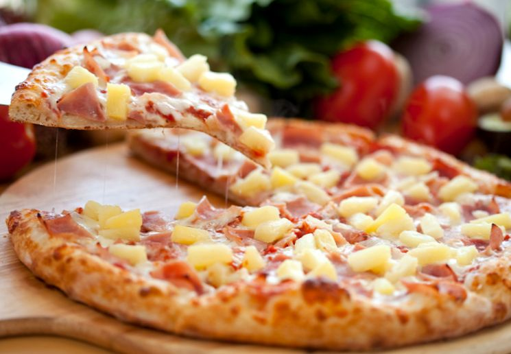 Домашняя пицца бездрожжевом тесте