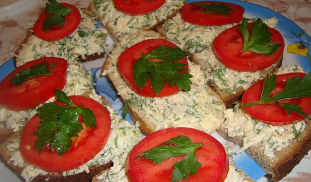 Рецепты приготовления бутербродов праздничного стола