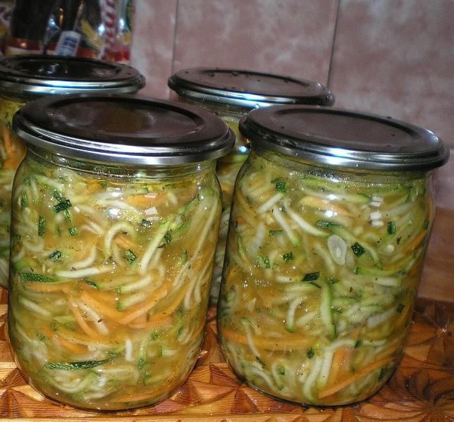 Рецепты из кабачков и огурцов на зиму рецепты с пошагово
