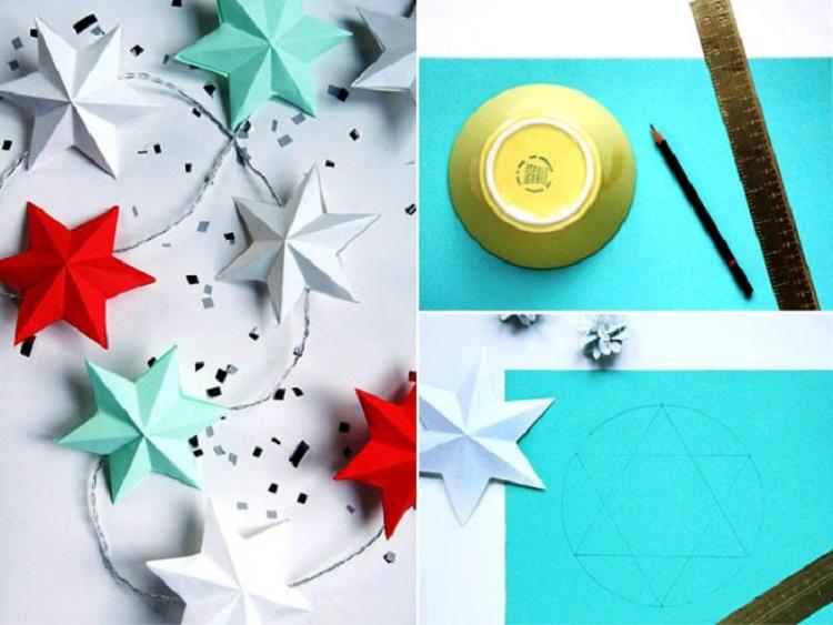 Новогодние поделки из бумаги своими руками на 2018 год из бумаги 5