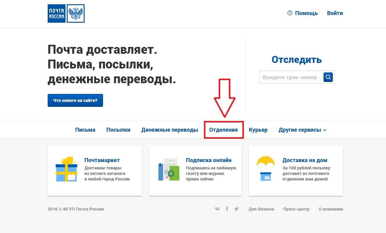 База почтовых индексов россии