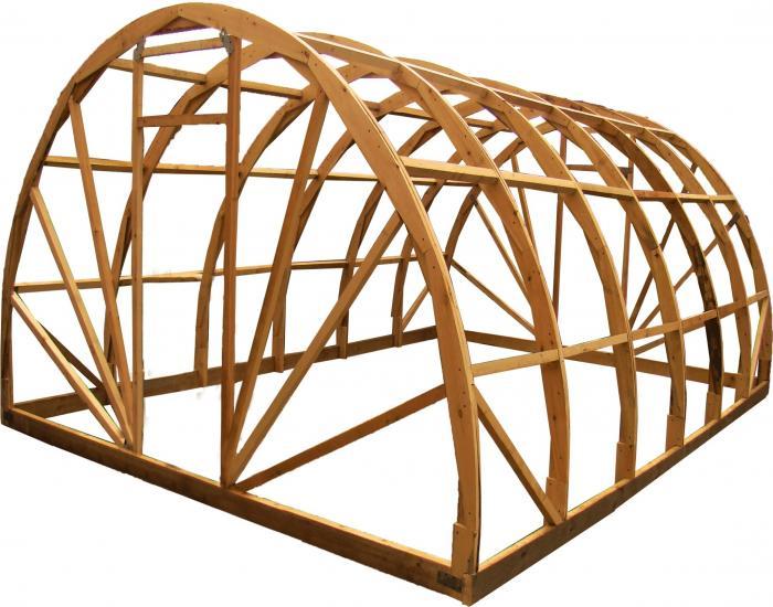 Теплица своими руками из дерева (простая схема и видео). Чертеж теплицы из деревянных брусков 5 метров