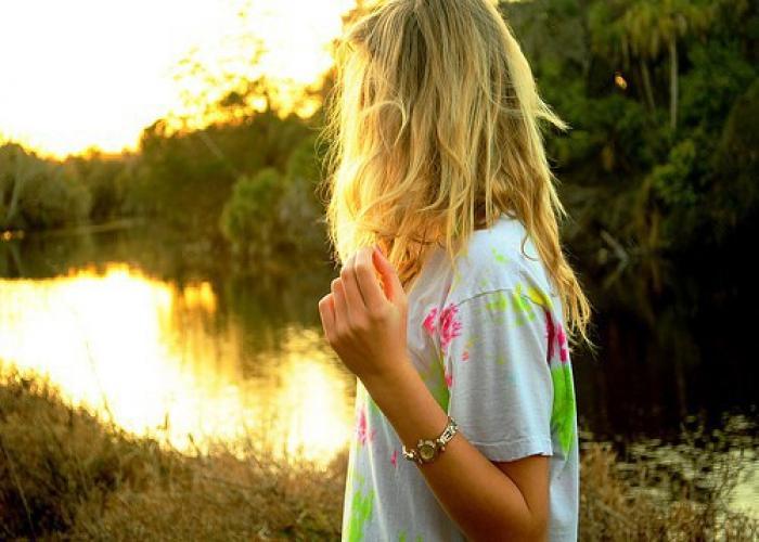 фото девушек со спины на аву блондинок