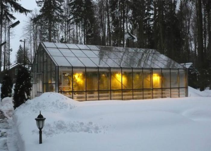 Зимние теплицы из поликарбоната с отоплением своими…