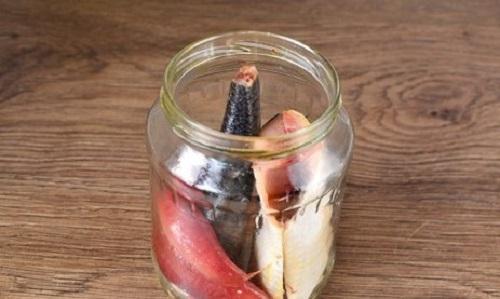 Засолка сельди в домашних кусочками быстрого приготовления