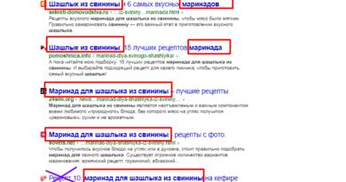 Нужно ли придумывать заголовок к статье, или 90% слов уже придумано в Яндексе?