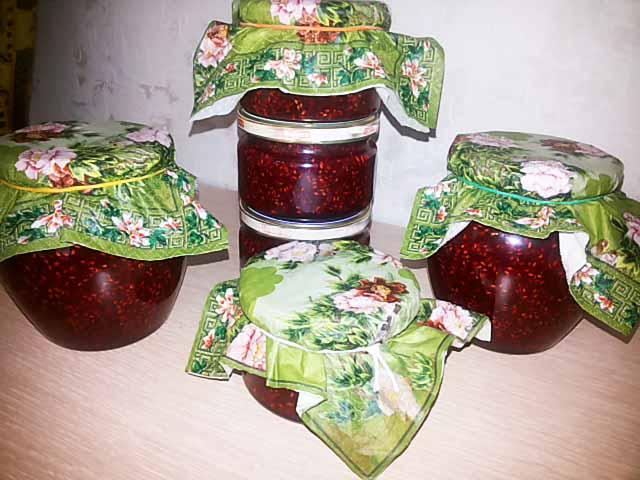Малиновое варенье «пятиминутка» на зиму — 5 рецептов с фото и видео