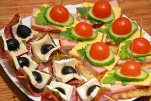 Как сделать бутерброды простые 267
