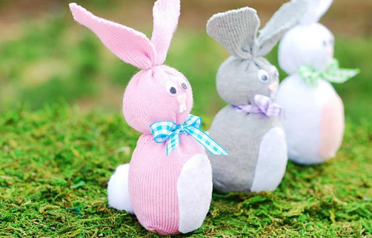 krolik-1 Пасхальный кролик (заяц). Рецепты выпечки и поделки своими руками