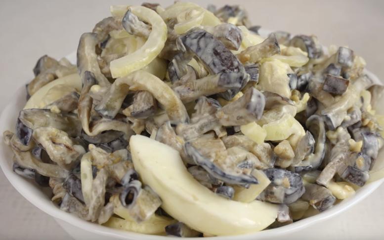 Салаты из баклажан на каждый день (Вкуснотища)